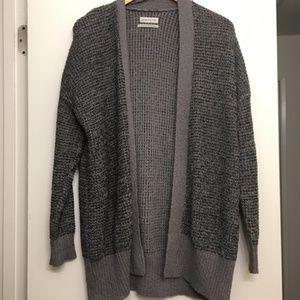 NWOT Urban Outfitters Gray Cardigan Size XS